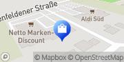 Karte Netto Filiale Arnstorf, Deutschland