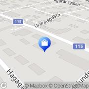 Karta Miss Elly AB Båstad, Sverige