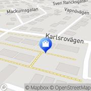 Karta Tengesdal Städ & Fönsterputs Halmstad, Sverige