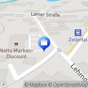 Karte Netto Filiale Bad Kötzting, Deutschland