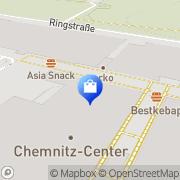 Karte C & A Mode Chemnitz, Deutschland