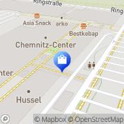 Karte Esprit Chemnitz Chemnitz, Deutschland