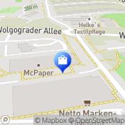 Karte Netto Filiale Chemnitz, Deutschland