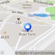 Karte WMF Chemnitz, Deutschland
