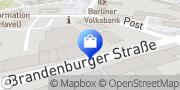 Karte NETTO Deutschland - schwarz-gelber Discounter mit dem Scottie Werder (Havel), Deutschland
