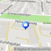 Karta Form Optik, T Lindmark Limhamn, Sverige