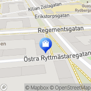 Karta Monitor Media Malmö, Sverige