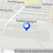 Karta Trädgårds-Paletten AB Malmö, Sverige