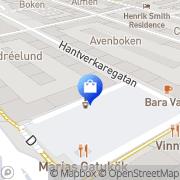 Karta Sankt Knuts Boden Gammalt & Nytt Malmö, Sverige