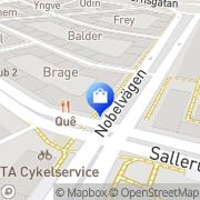 Karta Scandinavian Games Malmö, Sverige
