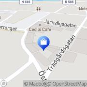 Karta KULIGT Laholm, Sverige