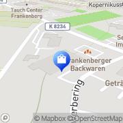 Karte Netto Filiale Frankenberg/Sa., Deutschland