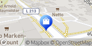 Karte Netto Filiale Stralsund, Deutschland