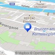 Karte Ganzer Moden Hallein, Österreich