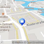 Karte Elektro-Dähn GmbH Stralsund, Deutschland