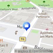 Karte Paracelsus-Apotheke Dietmar Paulick Fürstenberg/Havel, Deutschland