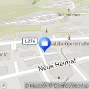 Karte Apotheke Zur heiligen Elisabeth Mag pharm Elisabeth Gruber Schwarzach im Pongau, Österreich