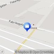 Karta JYSK Lidköping, Sverige