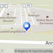 Karte Netto Filiale Oranienburg, Deutschland