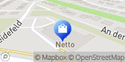 Karte NETTO Deutschland - schwarz-gelber Discounter mit dem Scottie Kleinmachnow, Deutschland