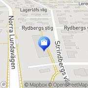 Karta Mickes Klackbar Staffanstorp, Sverige