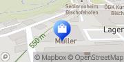 Karte Müller Drogeriemarkt Bischofshofen, Österreich