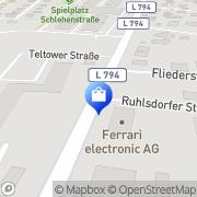 Karte playground Teltow, Deutschland