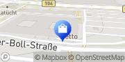 Karte NETTO Deutschland - schwarz-gelber Discounter mit dem Scottie Neubrandenburg, Deutschland