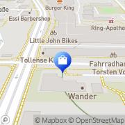 Karte Techert Neubrandenburg, Deutschland