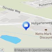 Karte Netto Filiale Bad Füssing, Deutschland