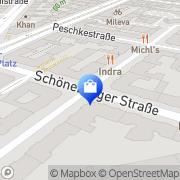 Karte MeineNamenskette Berlin, Deutschland
