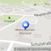 Karte Netto Filiale Spiegelau, Deutschland