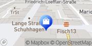 Karte Vodafone Shop Greifswald, Deutschland