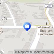 Karte Christiani Liebenwalde, Deutschland