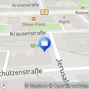 Karte Sandoro GmbH Berlin, Deutschland