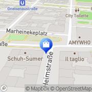 Karte Austria Berlin, Deutschland