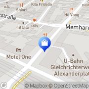 Karte Agentur Tatsch Berlin, Deutschland