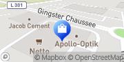 Karte Apollo-Optik Bergen auf Rügen, Deutschland