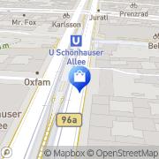 Karte Netto City Filiale Berlin-Prenzlauer Berg, Deutschland
