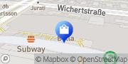 Karte Vodafone Shop Berlin, Deutschland