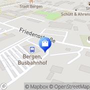 Karte Netto Filiale Bergen auf Rügen, Deutschland
