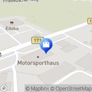 Karte LADA / KIA Vertragshändler Autohaus Sayda GmbH Sayda, Deutschland