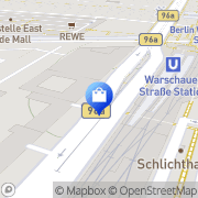 Map Stahl   Wolle Berlin, Germany