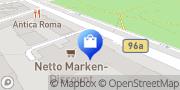 Karte Netto Filiale Berlin, Deutschland