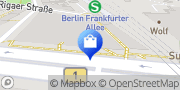 Karte o2 Shop Berlin, Deutschland