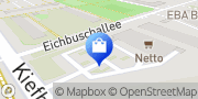 Karte NETTO Deutschland - schwarz-gelber Discounter mit dem Scottie Berlin, Deutschland