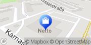 Karte NETTO Deutschland - schwarz-gelber Discounter mit dem Scottie Bernau, Deutschland