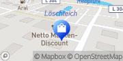 Karte Netto Filiale Bernau, Deutschland