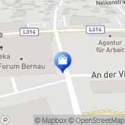 Karte E- neukauf Bernau, Deutschland