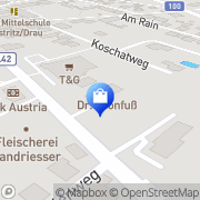 Karte Damian-Apotheke Mag. pharm. Lugger Feistritz an der Drau, Österreich